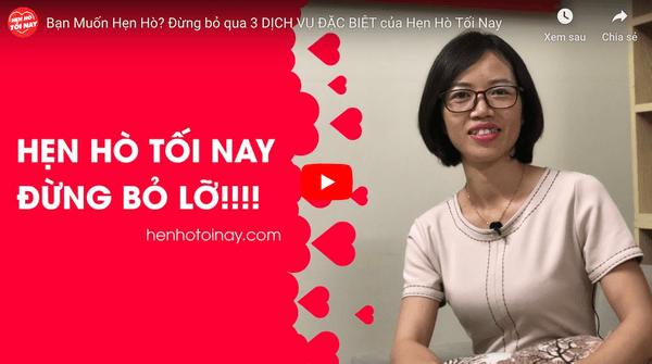 Giới thiệu về 3 dịch vụ hẹn hò của Hẹn Hò Tối Nay